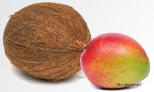 Kokosas ir Mango